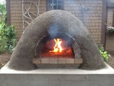 My cob oven almost complete.