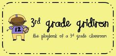 Third Grade Blog with lots of great ideas!