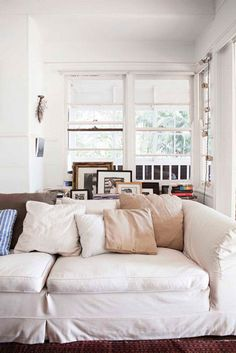 desire to inspire - slipcovered sofas