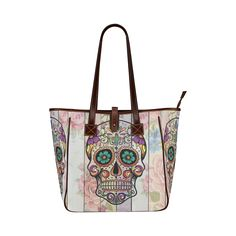 Skull Classic Tote Bag (Model 1644)