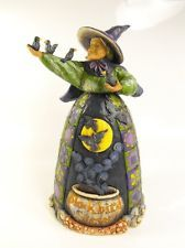 2007 JIM SHORE HEARTWOOD CREEK Halloween Witch BLACKBIRD STEW 118104
