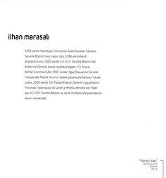 """İlhan Marasalı """"ZAMANIN İZİNDE"""" Çağdaş Seramik Sergisi, 2012 (Erdinç Bakla archive)"""