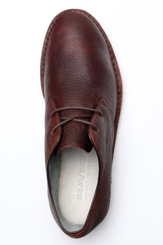 Leather Lace-Up Shoe for Men.