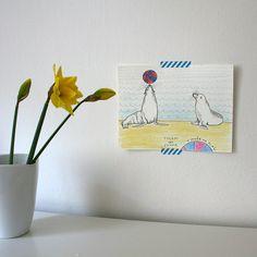tuleni / phocidae Notebook, Paintings, Paint, Painting Art, Painting, Painted Canvas, The Notebook, Drawings, Grimm