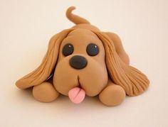 Handmade Fondant Puppy
