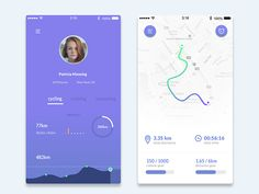 Dribbble Running Apps by degraphic - Dribbble