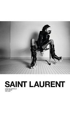 Yves Saint Laurent AD FERNANDA – FEBRUARY 6TH – FALL 17