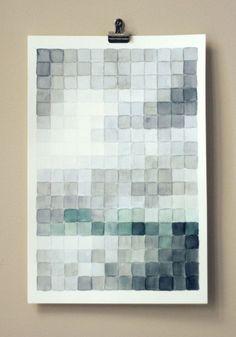 GENIUS! DIY Pixel Painting