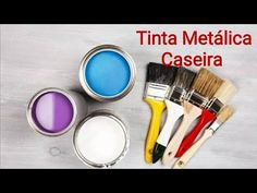 YouTube Learn To Paint, Craft Tutorials, Dyi, Metal Art, Decoupage, Polymer Clay, Crafts, Painting, Beauty