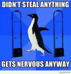 When passing through metal detectors