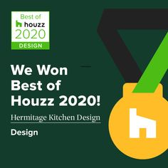 We are so honored to be recognized as the Best Design of Houzz Kitchen Design Gallery, 2020 Design, Houzz, Service Design, Designer, Cool Designs, Entertaining, Funny, Entertainment