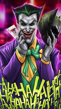Joker Have Batman Mask Wallpaper Gotham Joker, Joker Art, Batman Art, Joker And Harley Quinn, Joker Batman, Joker Photos, Joker Images, Dc Comics Series, Dc Comics Art