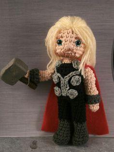 Avengers... Assemble!  Thor  by Moñacos, cosicas y meriendacenas
