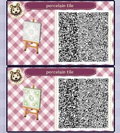 Animal Crossing Qr Codes Paths Wood Pink