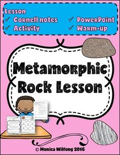 This product includes Cornell notes, an activity and a PowerPoint on metamorphic…