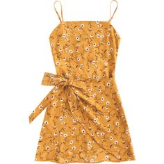 Tiered Bowknot Cut Out Mini Dress ($16) ❤ liked on Polyvore featuring dresses, mini dress, tiered dress, cutout dresses, short yellow cocktail dress and short cut out dresses Bow Dresses, Summer Dresses, Short Dresses, Mustard Yellow Dresses, Floral Sleeve, Tiered Dress, Cutout Dress, One Piece Suit, Sweet Dress
