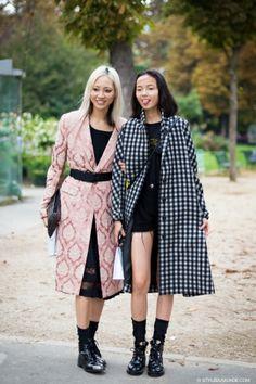 STYLE DU MONDE / Paris FW SS2014: Soo Joo Park & Ju Xiaowen  // #Fashion, #FashionBlog, #FashionBlogger, #Ootd, #OutfitOfTheDay, #StreetStyle, #Style