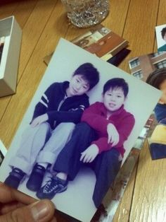 Brothers Zico & Taewoon