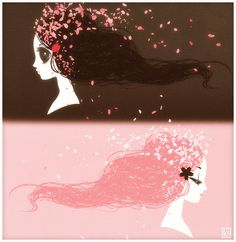 snow white.rose red by ~kgwa