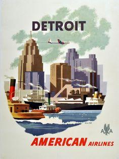 Detroit, Michigan - Vereinigte Staaten von Amerika / United States of America / USA