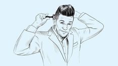 Four steps and some forward planning are what you need to achieve the original cool-guy hairdo