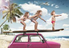 LEVARWEST - Cousins queens slides / Les cousines reines de la glisse - - ARTFreeLife
