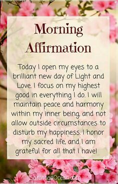 Numerology Spirituality - Inspiration www. Get your personalized numerology reading Affirmations Positives, Morning Affirmations, Daily Affirmations, Healthy Affirmations, Christian Affirmations, Positive Thoughts, Positive Quotes, Yoga Thoughts, Spiritual Quotes