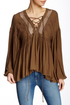 Don't Let Go Blouse by Urban Outfitters on @nordstrom_rack