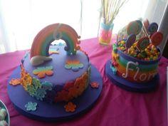 Cumpleaño tema arcoiris