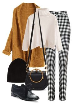 Love this outfit (except replace the cropped white sweater with a tee).