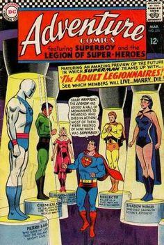 Superboy - Superman - Reflecto - Ferro Lad - Superhero - Curt Swan