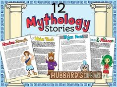 NOTE:  If you have purchased the Greek Mythology Mega Bundle or Allusion Unit, these 12 stories are included in that bundle.  For $10.00 more the teacher will receive 3 literacy based mini-units with tons of resources that will last for several weeks.Mythology MEGA BundleThese Greek Mythology stories were created to be kid friendly.