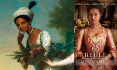 Cant wait to see this movie! Coming to the big screen: Dido Elizabeth Belle was the illegitimate daughter of Admiral Sir John Lindsay and an enslaved African woman named Belle. This painting was most likely commissioned by her father, the nephew of the Earl of Mansfield, and depicts the beautiful and vivacious Belle alongside her cousin, Elizabeth Murray. Belle is played by South African actress Gugu Mbatha-Raw.
