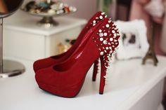 Red and bedazzled