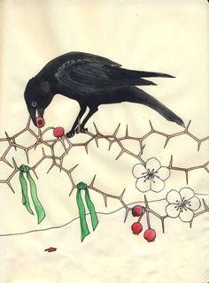 Yule Crow lauragyre