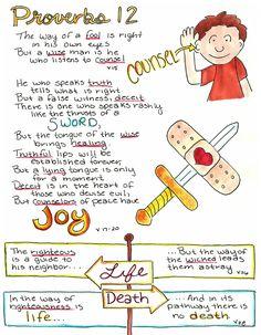 Doodle Through The Bible: Proverbs 12
