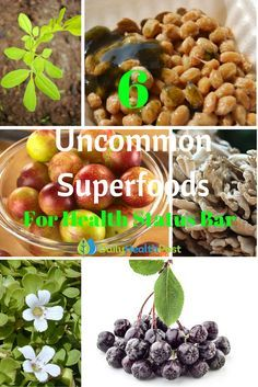 There are many foods that spring to mind when you say the word 'superfood', such as kale, spirulina and Manuka honey. But there are many foods out there that are much lesser known that may even match or exceed the nutritional qualities of commonly known superfoods.Below are 6 of these lesser known superfoods that you should look into purchasing to help you on your path to achieving amazing health.