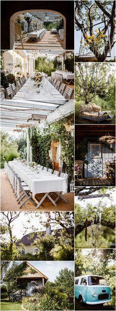 Die Träumerei im Südburgenland ist die perfekte Location für eure Gartenhochzeit im Freien. Wedding Locations, Wedding Venues, Austria, Table Decorations, Amazing, Berlin, Home Decor, Weddings, Outdoor