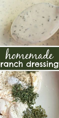 The Best Homemade Ranch Dressing Ranch Homemade Salad Dressing You can make delicious homemade ranch dressing in just minutes This is the best ranch salad dressing you. Buttermilk Ranch Dressing, Homemade Ranch Dressing, Homemade Ranch Dip, Recipe For Ranch Dressing, Ranch Salad Dressing, Salad Dressing Recipes, Restaurant Ranch Dressing, Sour Cream Salad Dressing, Best Ranch Dressing