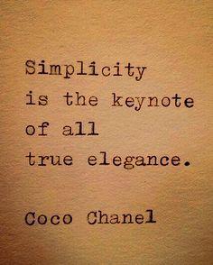 Leonardo Da Vinci and Chanel have the same thoughts