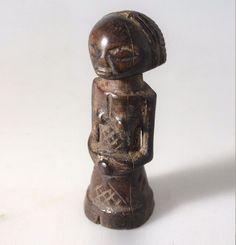 Luba Miniature Fetish - Power half Figure - Kakudji #LubaCarver