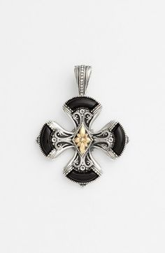 Konstantino 'Ismene' Maltese Cross Pendant available at #Nordstrom
