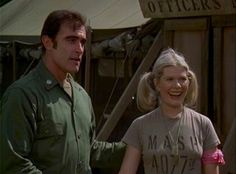 Donald and Margaret in the M.A.S.H Olympics
