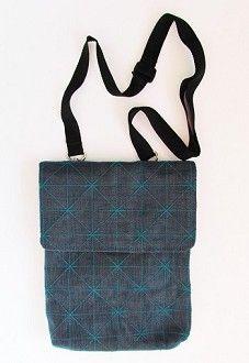recycled metallic net bag