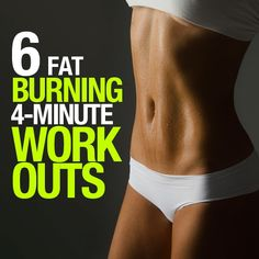 6 Fat-Burning, 4 Minute Workouts | FormalHealth