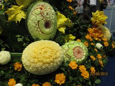 fruit and vegetable carving class