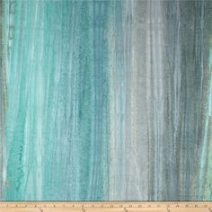 Artisan Batiks Santa Fe Trail Landsape Stripe Water from @fabricdotcom  Designed for Robert Kaufman, this Indonesian batik is perfect for quilting, apparel and home décor accents. Colors include mist, steel blue, aqua, grey, and turquoise.
