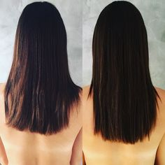 One month ! 5 cm ! What else ? -- Un mois ! 5 cm ! Quoi d'autre ? #hairstyle #hair #beautiful #beauty #skin #nails #hairskinandnails #hairskinnails #itworks #itworksglobal #itworksadventure