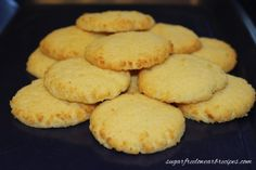 Basic Coconut Flour Cookies #glutenfree #grainfree #paleo
