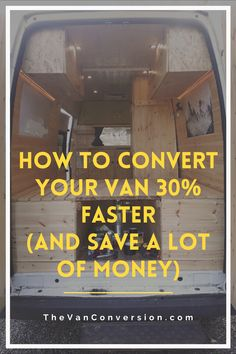 Good project management is absolutely key to a successful van conversion. It will save you time, money, and help you make fewer mistakes. In this article, we will look at how to increase your productivity while reducing stress, making your van conversion more cost effective, time-efficient. Van Conversion Guide, Reduce Stress, Project Management, Fun Projects, Mistakes, Productivity, Save Yourself, Saving Money, Conversation